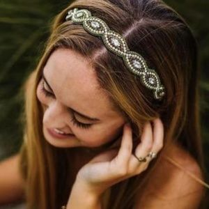 Free People Braided Headband NWOT